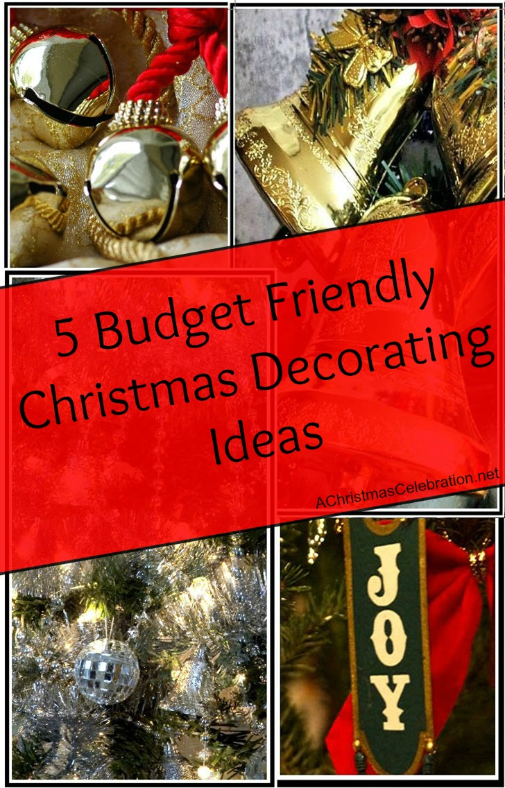 budget friendly Christmas decorating ideas