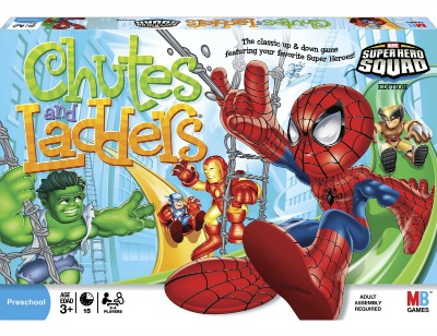 super hero squad chutes and ladders