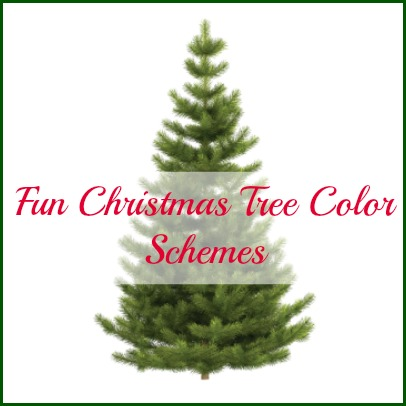 christmas tree color scheme ideas