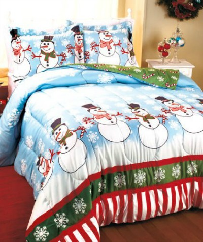 Christmas Comforters For Twin Queen Amp King Size Beds