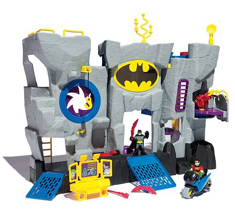 imaginext batman cave