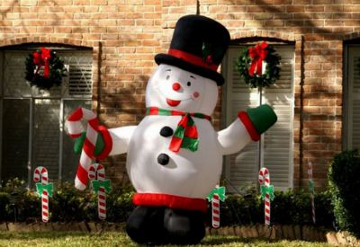 outdoor christmas decorating without hanging lights