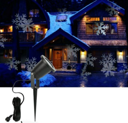 snowflake projection lights outdoor indoor