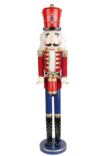 large nutcracker decoration