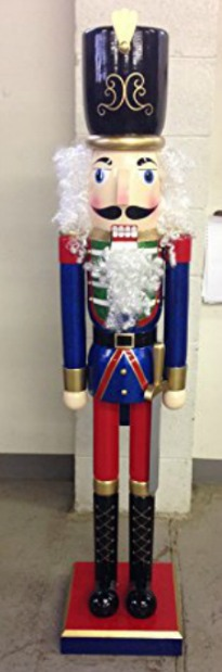 life size wooden nutcracker