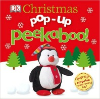 pop up peekaboo christmas board book