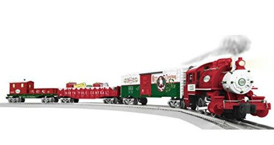 santa christmas train set