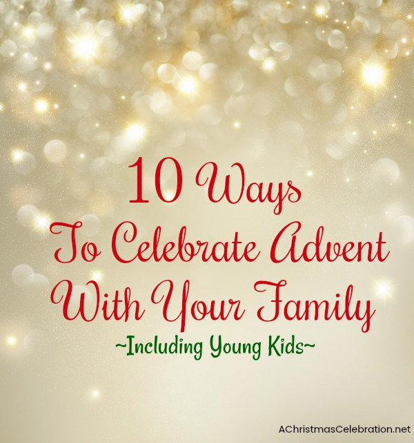 ways to celebrate Advent