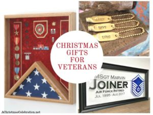 Christmas gifts for veterans