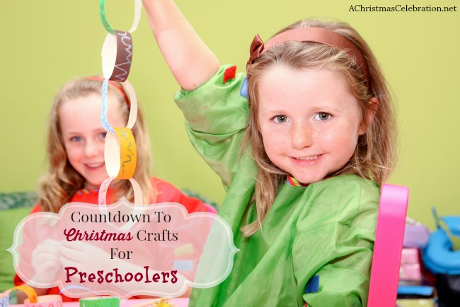 countdown to christmas crafts for preschoolers