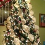 How To Decorate A Christmas Tree With Deco Mesh