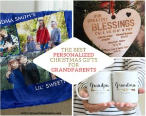personalized christmas gifts for grandparents