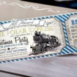 Polar Express Party Supplies, Invitations and Ideas For Christmas and Birthdays