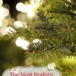 The Most Realistic Artificial Christmas Tree