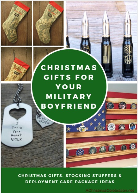 Christmas gifts for military boyfriend