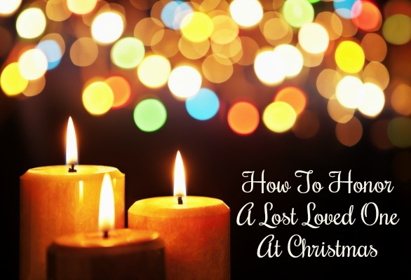 how to remember a lost loved one at christmas
