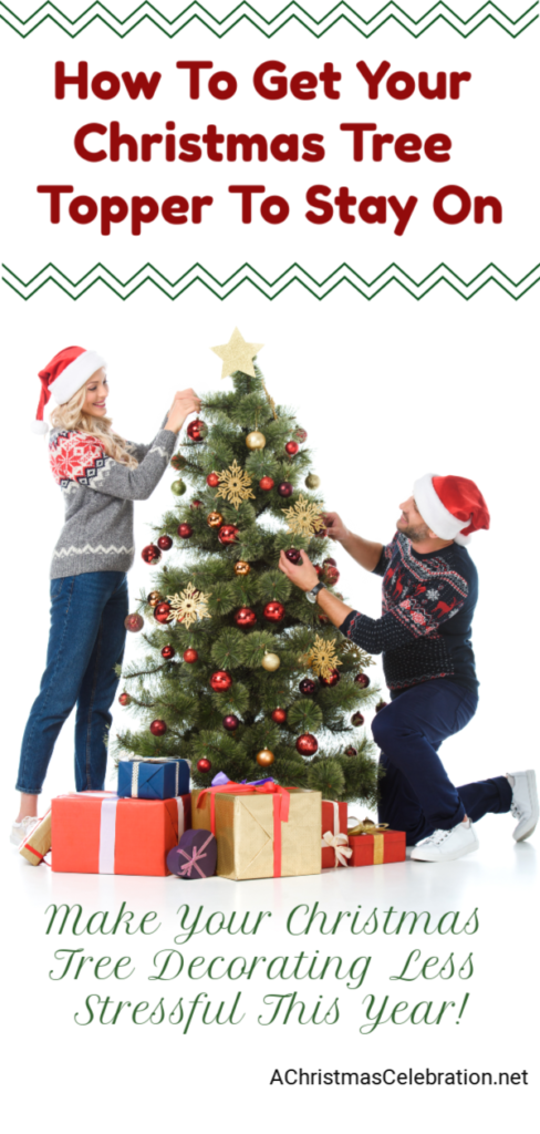 How To Get Your Christmas Tree Topper To Stay On